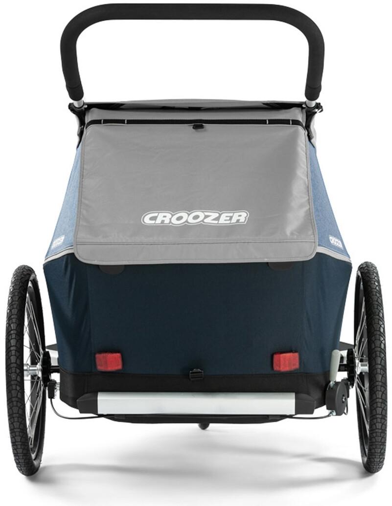 croozer kid le for 2 fahrradanh nger stone grey online bei. Black Bedroom Furniture Sets. Home Design Ideas